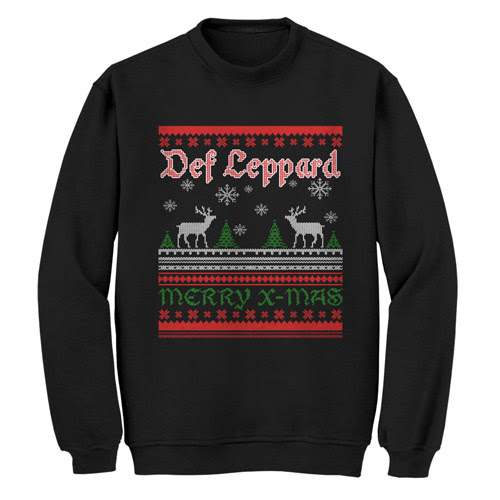 Def Leppard Official Store | Merry X-Mas Crewneck Sweat
