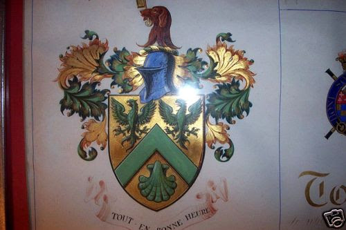 Arthur Durance George - Grant of Arms