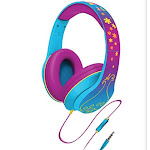 Dreamwork Trolls Over-the-Ear Headphones with Built-in Microphone (Wi-M40TR.FX)