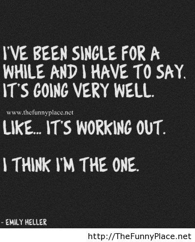Being Single Quote Thefunnyplace
