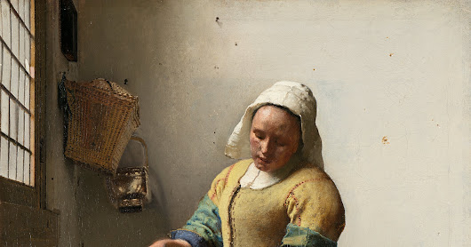 Jan Vermeer・La lattaia