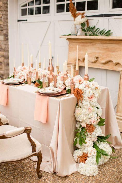 Peach Wedding   Rose Gold Wedding Inspiration #2062895