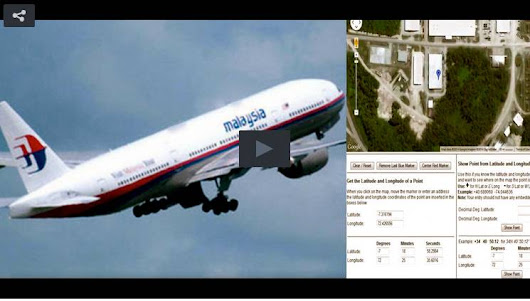 SHOCK CLAIM: GPS Data Reveals Possible Location Of Flight 370