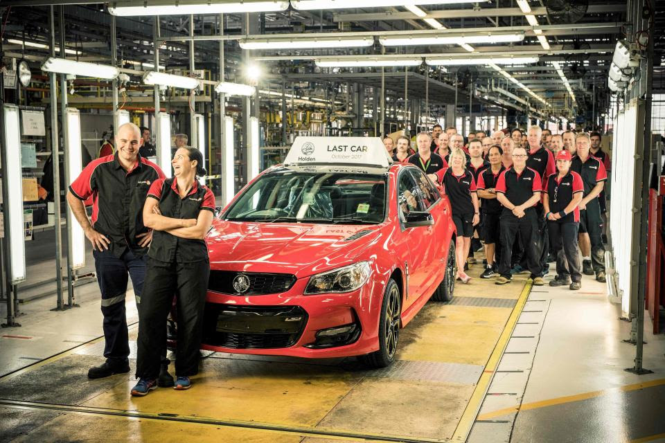Last Car Ever Built Rolls Off Holden Line As Car Manufacturing Ends In Australia