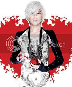 G-Dragon goes platinum white for his 'Heartbreaker' promo's