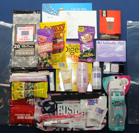 Making the Perfect Care Package: How You Can Help USO Bagram Stock Up for Troops