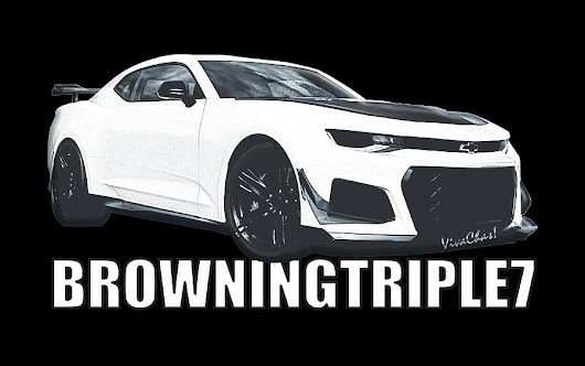 Browningtriple7 Camaro by Chas Sinklier