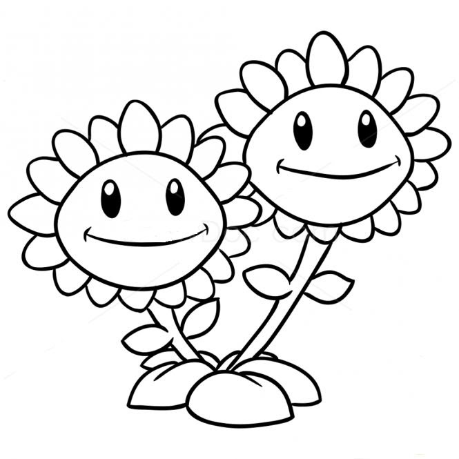 Trends For Peashooter Plants Vs Zombies 2 Coloring Pages Anyoneforanyateam
