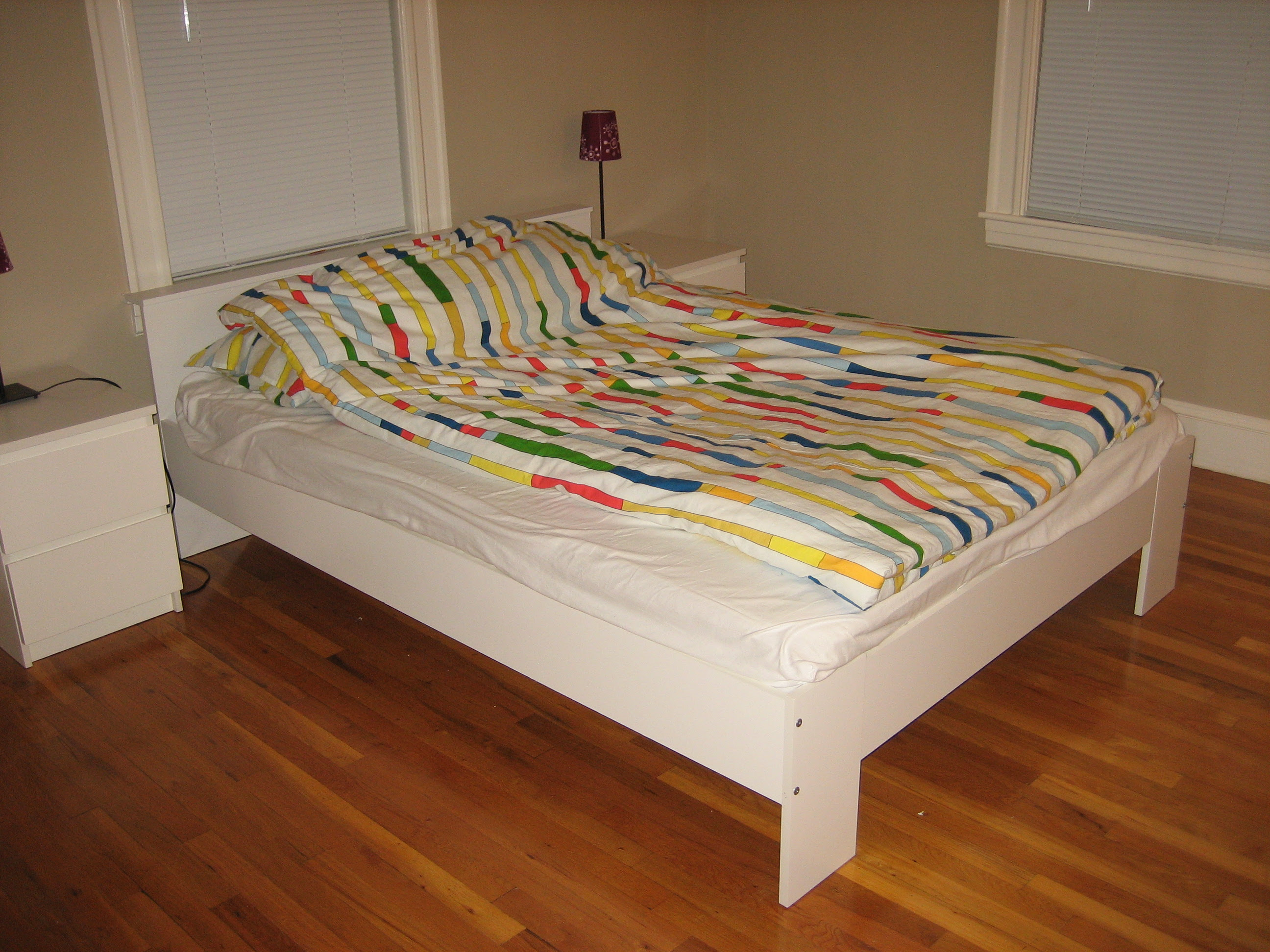 awesome ikea bed frame with box spring and mattress insured by ross