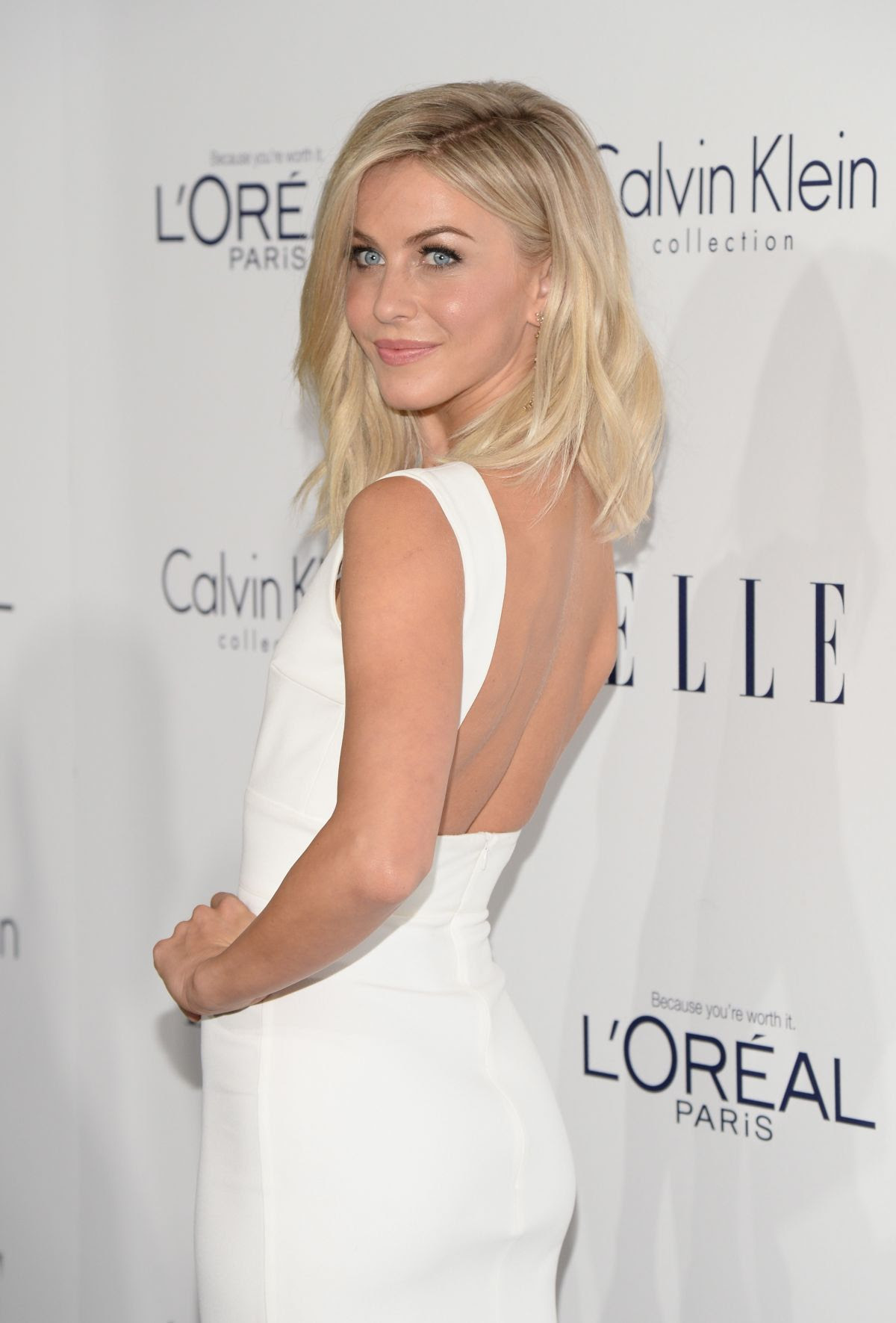 JULIANNE HOUGH at 2015 Elle Women in Hollywood Awards in Los Angeles 10/19/2015