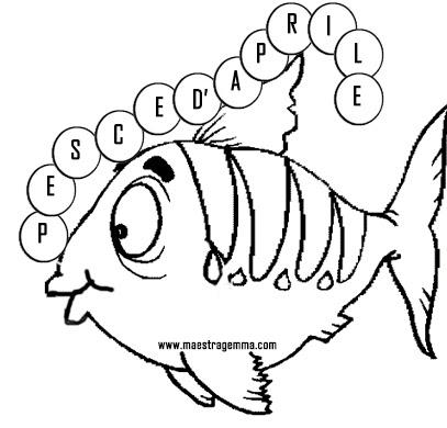 Disegno Pesce D Aprile Free Downloads