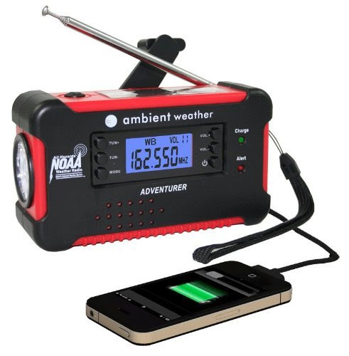 EMERGENCY AND ALL-IN-ONE RADIO FOR CAMPING OR ANY OTHER ADVENTUROUS TRIP