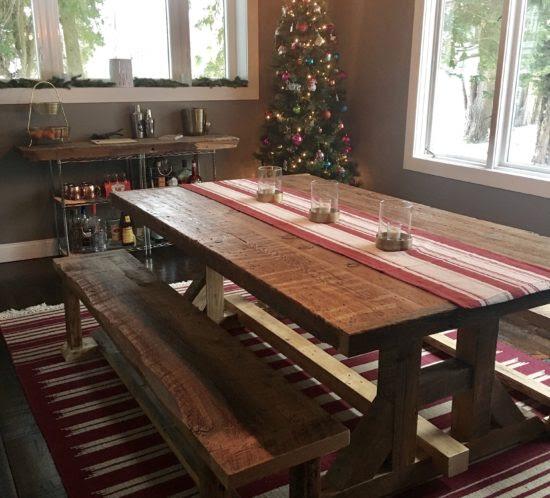 Orlando Reclaimed Wood Tables  Custom wood tables