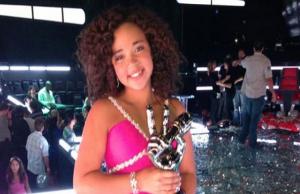 Paola Guanche, cubana, ganadora de la más reciente edición de La Voz Kids_foto tomada de internet
