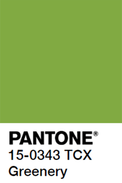 Pantone Color of the Year (2017) Greenery!