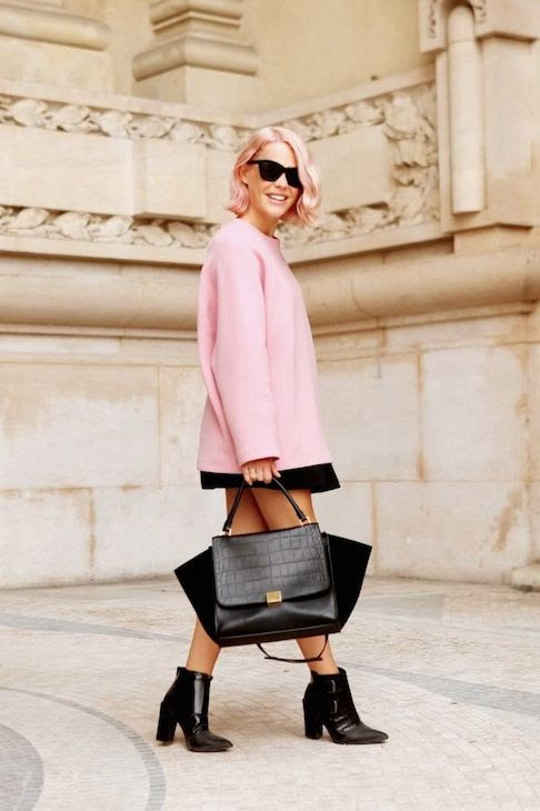 3 Le Fashion Blog 7 Inspiring Pink Ombre Hair Looks Short Bob Celine Bag Jessie Bush We The People photo 3-Le-Fashion-Blog-7-Inspiring-Pink-Ombre-Hair-Looks-Short-Bob-Celine-Bag-Jessie-Bush-We-The-People.jpg