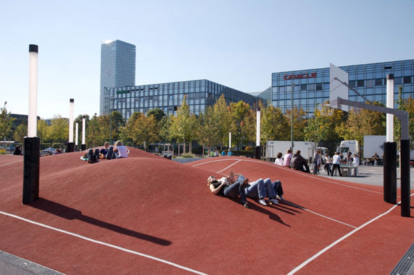 The world's craziest basketball court is in Munich