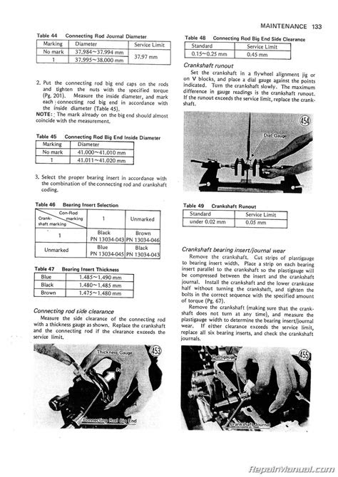 1976 – 1979 Kawasaki KZ750 B Twin Motorcycle Service Manual