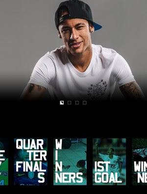 Site de Neymar concorre ao oscar da internet