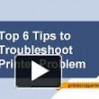 Top 6 Tips To Troubleshoot Printer Problem