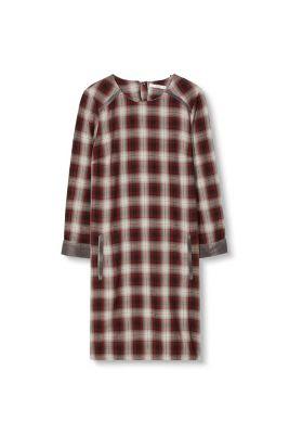 EDC / Vestido a cuadros, 100% algodón
