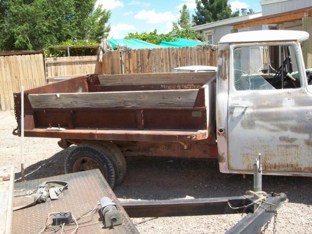 1956 A 130 International harvester dump truck early las ...