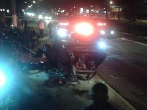 Homem morre depois de grave acidente (Foto: Ewerton Miler / Blog Friburgo Notícias Agora)