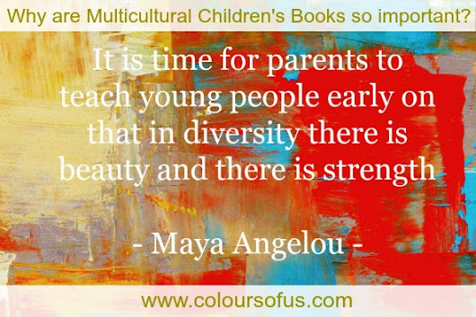Why are multicultural children's books so important? | Colours of Us