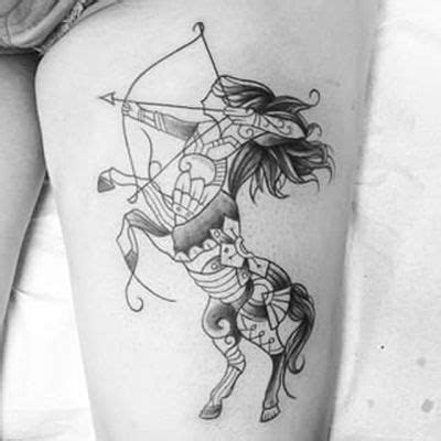 sagittarius tattoos flowertattooideascom