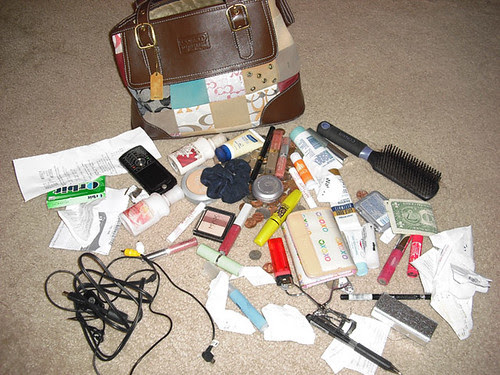 Blogger Challenge - What's In Your Bag?