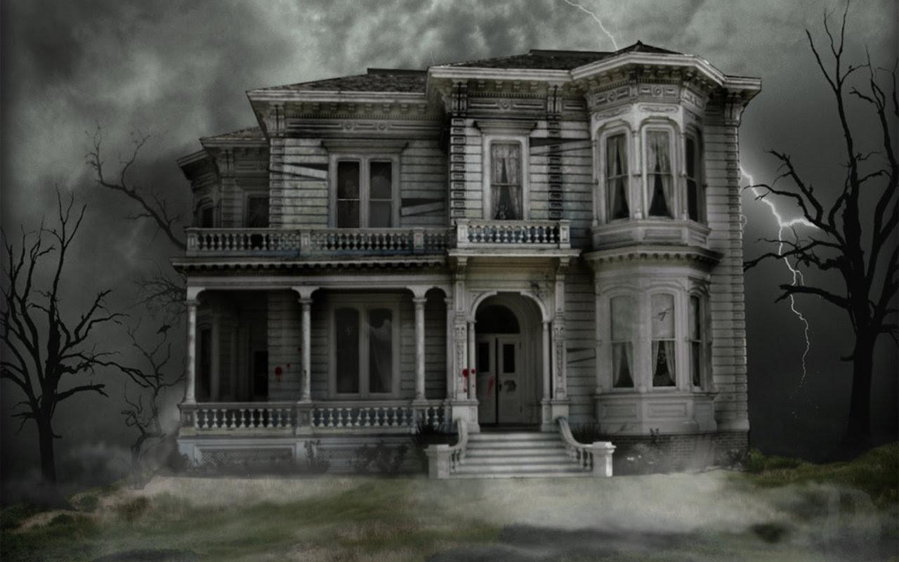 Haunted House Halloween Wallpaper 16050708 Fanpop