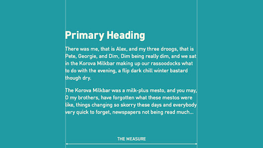 3 Typography Tips For A More Comfortable Read