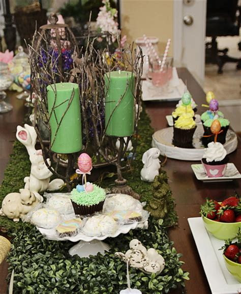 Rustic Easter Table Setting & Easter Decor