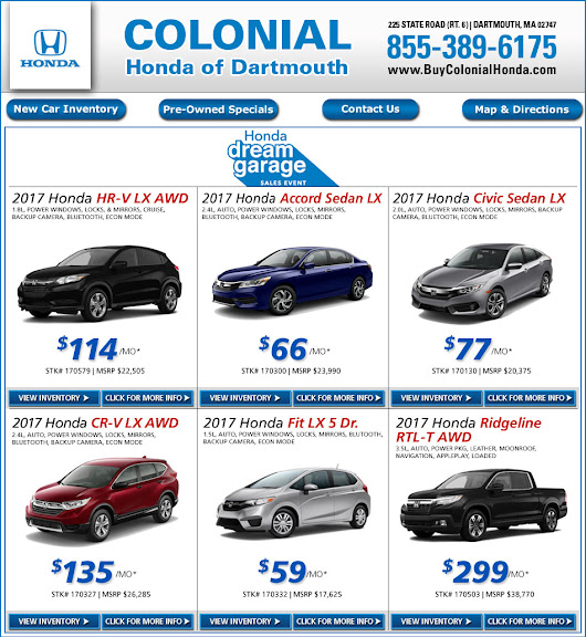 Colonial Honda : Dartmouth, Massachusetts Honda Dealership