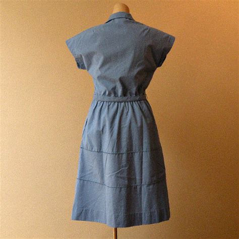 blue skies day dress  pretty sweet vintage