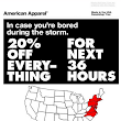 American Apparel's Hurricane Sandy Sale – Brilliant or Boneheaded? | Innovation