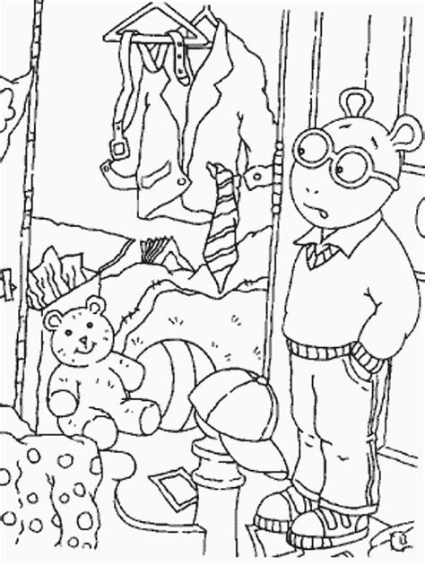 arthur  cartoons coloring pages coloring book