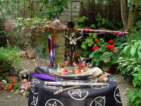 Pagan wedding altar   Handfasting Ideas in 2019   Wiccan