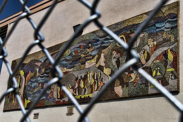 Charlotte Von Troesch Mural at Downey High
