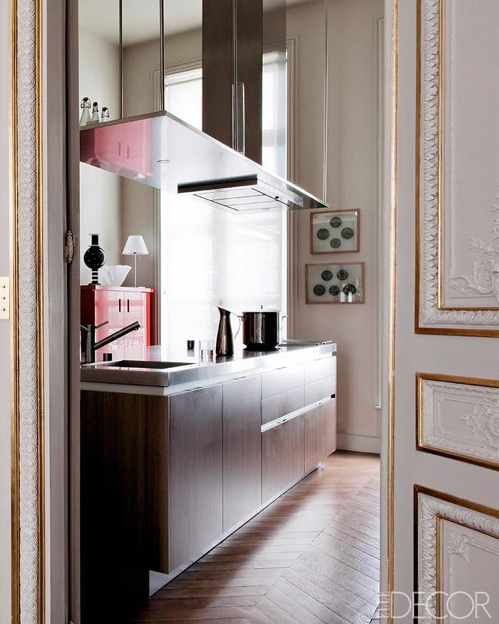 Elle Decor retornar à forma um apartamento em Paris Modern 5