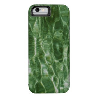 Abstract Green Water Ripples iPhone 6 Case