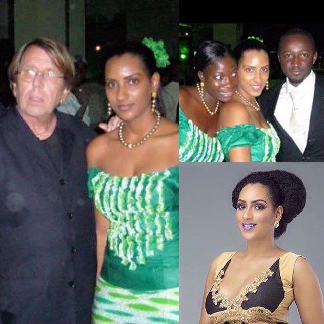 Juliet Ibrahim CAF Awards Usher
