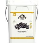 Augason Farms Black Beans Emergency Bulk Food Storage, 236 Servings - 24 lb pail