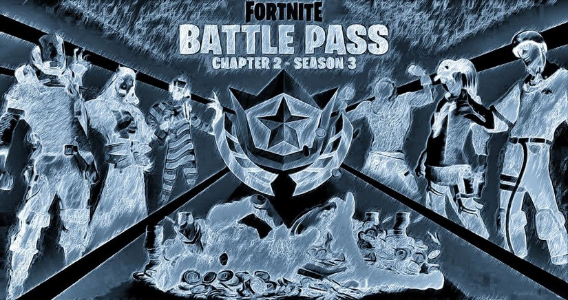 Coloring Page Fortnite Chapter 2 Season 3 Battle Pass 6