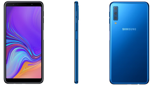 Galaxy A7 Brings Samsung's First Triple Camera Setup & Side Fingerprint