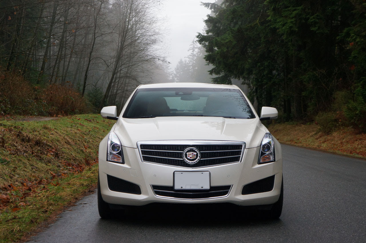2014 Cadillac ATS 3.6L Luxury AWD Road Test Review | The ...