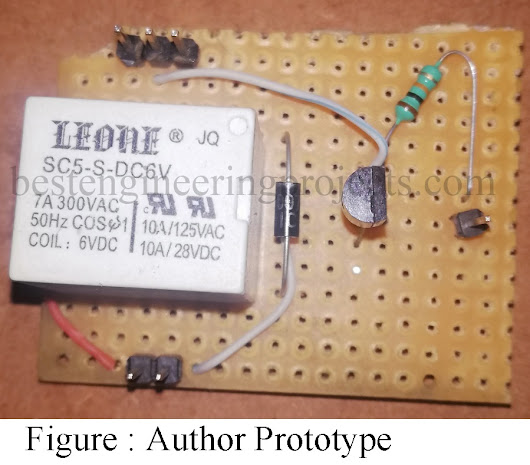 How to Make Relay Switch Circuit - Best Engineering Projects