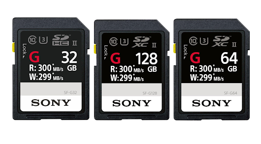 Sony unveils SD cards so fast, they've bumped up against interface speed limits - ExtremeTech
