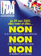 Le Pen também é pelo Não ao tratado constitucional
