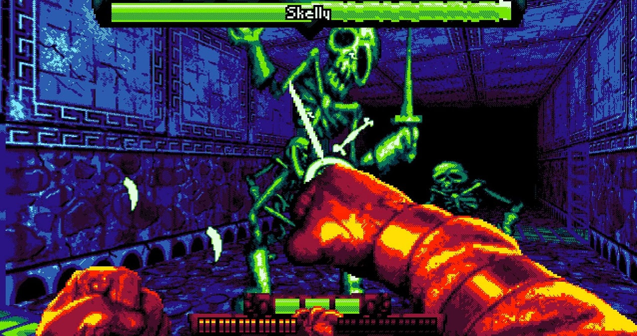 Fight Knight is a dungeon crawler that packs a mean punch screenshot